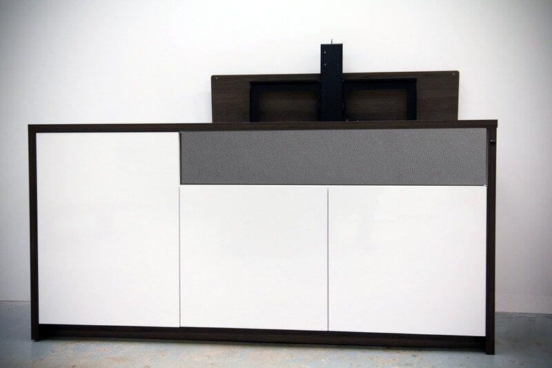 Tv lift meubel kies een tv lift meubel en je tv verdwijnt uit