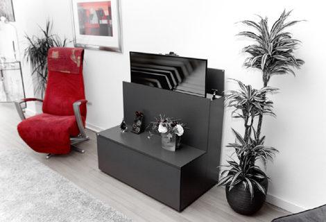 meubel met tv lift van emondo