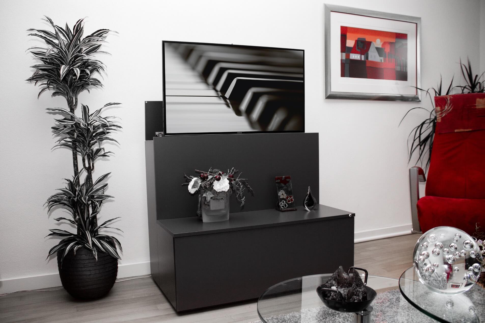 meubel met ingebouwde TV lift