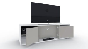 tv meubel op maat achterkant