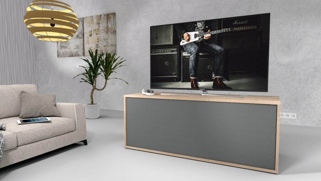 emondo Movie soundbar TV meubel van emondo