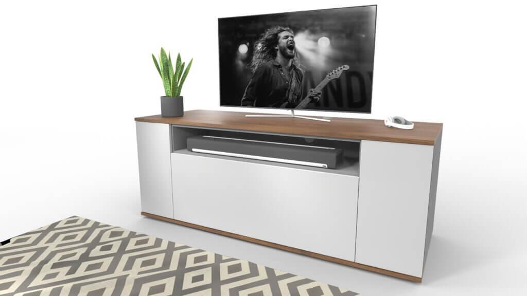 emondo tv meubel op maat met SONOS Playbar