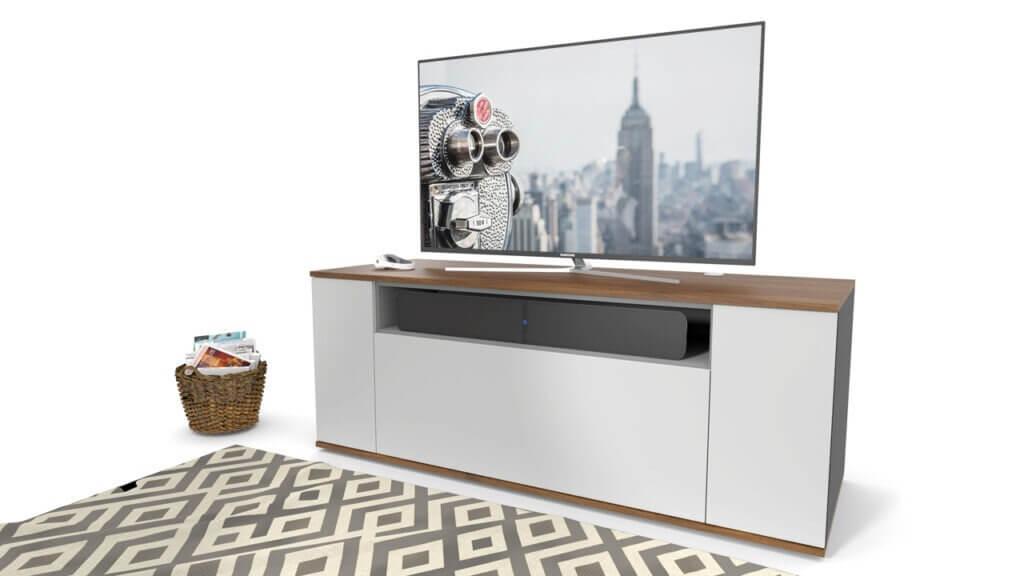 emondo Pulse sb soundbar TV meubel met een open vak